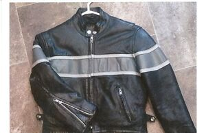 Genuine Leather Coat ** Fits Age 5 to 8 ** SO COOL!