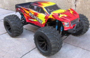 New RC Truck Wolverine  Brushless Electric Next-Gen Chassis LIPO