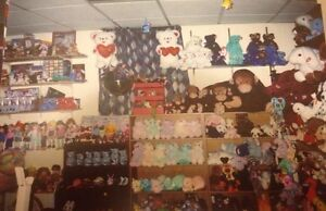 Ty Beanie Babies, Beanie Buddies, Beanie Boppers Collection