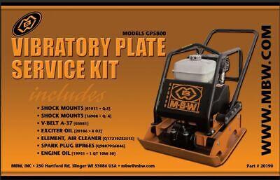 Mbw Plate Compactor Gp5800 Service Kit Whonda Engine