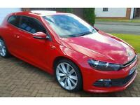 VW SCIROCCO. 2.0 TDI. R Line. Salsa Red