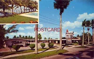 TIDES MOTEL Route 80 FORT MYERS, FL. Mr & Mrs C W Bruce, Owners