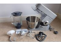 Kenwood Chef Premier Food Mixer KMC 570 (as new) + Blender and 4 attachments