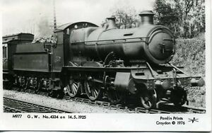 Pamlin-repro-photo-postcard-GWR-2-6-0-No-4334-in-1925-M977