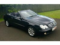 Part ex / swap - Stunning Mercedes CLK 200 Kompressor convertible - full mot - fsh