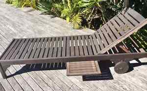 Auburn Wood Outdoor Sunlounger Point Piper Eastern Suburbs Preview
