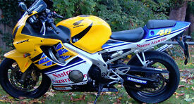 HONDA cbr600f sport 2003 37000 miles new chain and sprockets new tyres new exhaust