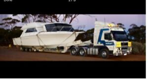 Towing transport and heavy haulage