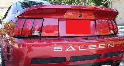 "FOR FORD MUSTANG PRE-PAINTED ""Saleen-Style Short"" w/Light Rear Spoiler 1999-2004"
