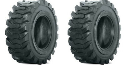 2 New 27x10.50-15 Skid Steer Tires-27x10.5-15-8 Ply-for Bobcat And More