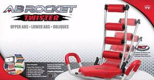 ABS Rocket Twister(3 in 1 AB Rocket Twister Abdominal Gym Exercis Homebush Strathfield Area Preview