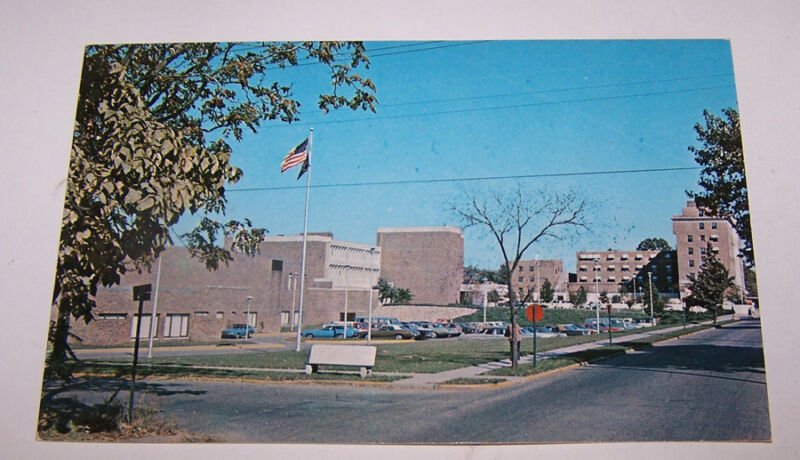 Vintage UNION HOSPITAL Postcard TERRE HAUTE INDIANA