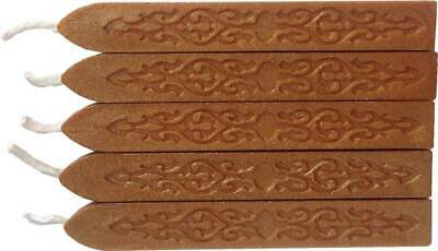 Shimmering Gold / Bronze Sealing Wax (with wick) - 5 Sticks