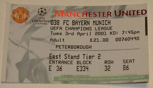 old ticket CL Manchester United England Bayern Munchen Germany - Poznan, Polska - old ticket CL Manchester United England Bayern Munchen Germany - Poznan, Polska