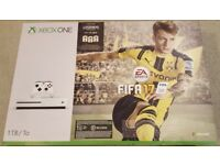 Brand New Sealed Xbox One S Console 1TB White with FIFA 17