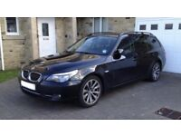 BMW 535d touring - Pro Nav - Black leather - Heads Up - Paddle shift
