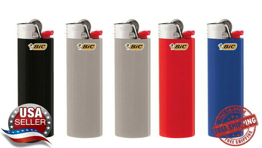 BIC Classic Lighter 5-Pack Assorted Colors From Bulk No Pack