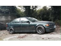 BMW 320d - Heavily modified - Rat Rod