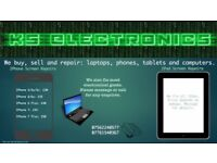 iPad, iPhone, iPad and most other electronic repairs!