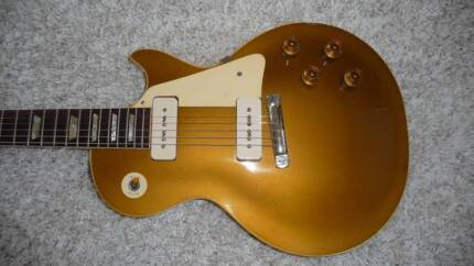 1954 Gibson les paul goldtop from Vintageguitarsaustralia
