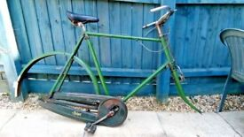 Vintage Raleigh Roadster Bike - Project