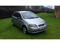 Chevrolet Kalos 1 years MOT service history 1.2 4 door £595