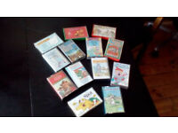 Children's cassettes. Box of 50. Stories, songs and nursery rhymes. .
