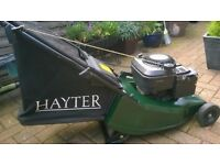 Hayter Harrier 41 Petrol Lawn Mower. THE VERY BEST! Of Mowers.. Can Ship UK