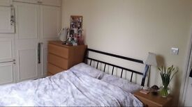 SPACIOUS & BRIGHT DOUBLE bed in a quiet flat (ALL BILLS INCLUDED)