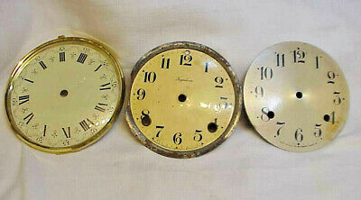 Antique Waterbury, Ingraham, unknown Mantle Clock Dials / Bezel
