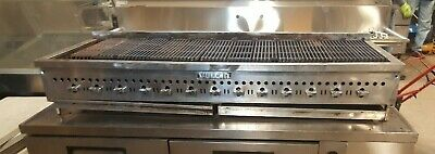 13 Burners Heavy Duty Vulcan 72 Char-broiler Radiant Grill Natural Gas Used