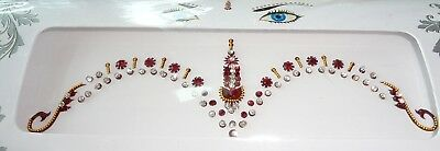 61 DIAMANTE Bridal Wedding BINDIS Crystals Body Jewelry Tattoos BellyDance USA