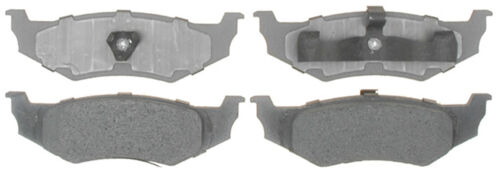 Disc Brake Pad Set-Organic Disc Brake Pad Front,Rear ACDelco Advantage 14D8