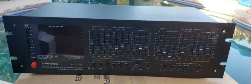 AudioSource EQ-ONE Graphic Equalizer & Spectrum Analyzer & Pink Noise Generator