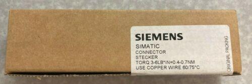 6ES73921AJ000AA0 - Siemens 20-Pin S7300 Front Screw Terminal Block ** Sealed !!!