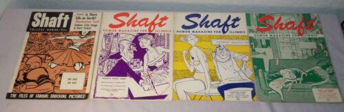 1953-1954 Lot 6 SHAFT Humor Magazines UNIVERSITY OF ILLINOIS Spicy Content