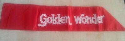 Vintage Golden Wonders Red and White Belt Rare