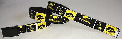 Iowa University Alumni (University of Iowa Hawkeyes BELT NCAA Fan Game Gear College Alumni Team Shop New)