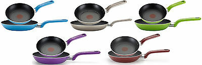 T-fal Excite Nonstick Thermo-Spot 2-Piece Fry Pan Sets, 8 + 10.25-inch, 7 (Thermo Spot)