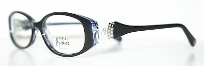 GUESS BY MARCIANO 186 BLACK WHITE New Cat Eye Optical Eyeglass Frame For Women