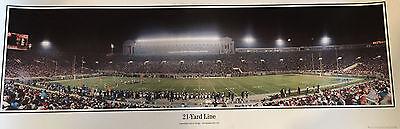 Chicago Bears Soldier Field 21 Yard Line Panoramic Photo Bears Panoramic Photo