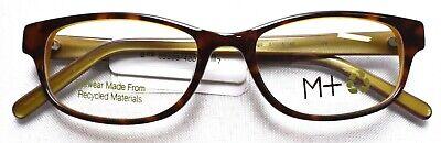 M+ Eco 2015 Tortoise Eyeglass/Glasses Frames 51-16-140  From Recycled (Eco Glasses Frames)