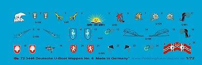Peddinghaus 1/72 3446 Deutsche U-Boot Wappen No 6