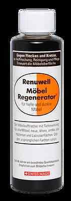 RENUWELL Möbel-Regenerator Möbelpflege 270 ml Politur Schutz für alle Holzarten