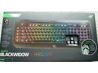 Razer Blackwidow Chroma Mechanical USB Gaming Keyboard - NEW - £80