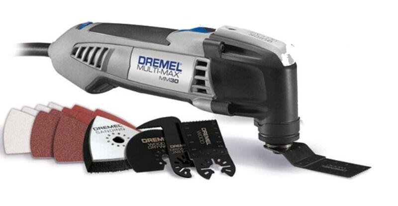 Dremel MM30 2.5-Amp Multi-Max Oscillating Tool Kit w/Accessories (Refurbished)