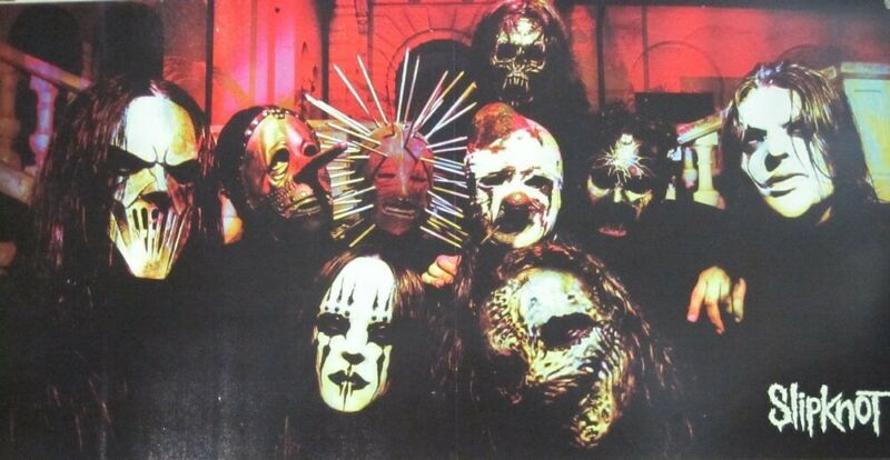 SLIPKNOT 2004 VOL. 3 double  sided promotional poster Flawless New Old Stock