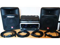 Seakers, amplifier, cables etc for sale