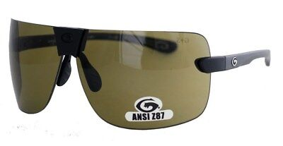 c33d1fbc2c8143 Gargoyles Sunglasses Novus Black Grey green Lens (new)