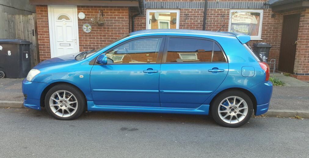 Toyota Corolla SR 16 RARE BLUE Only Afew Around 2550